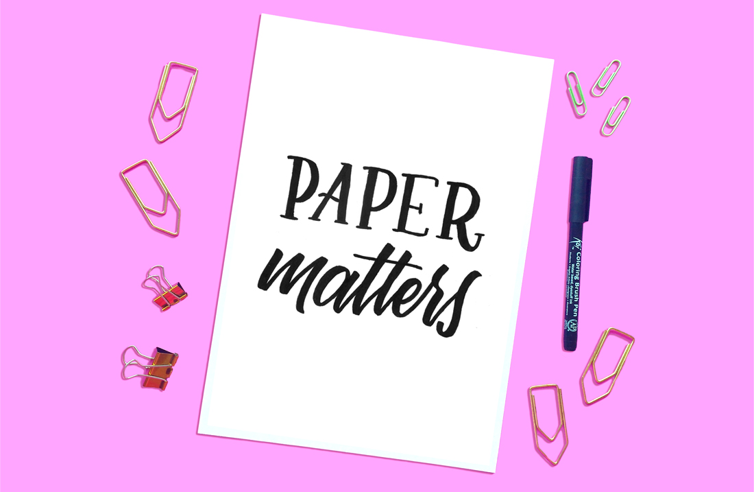 Paper Matters - The Best Papers For Your Brush Pens