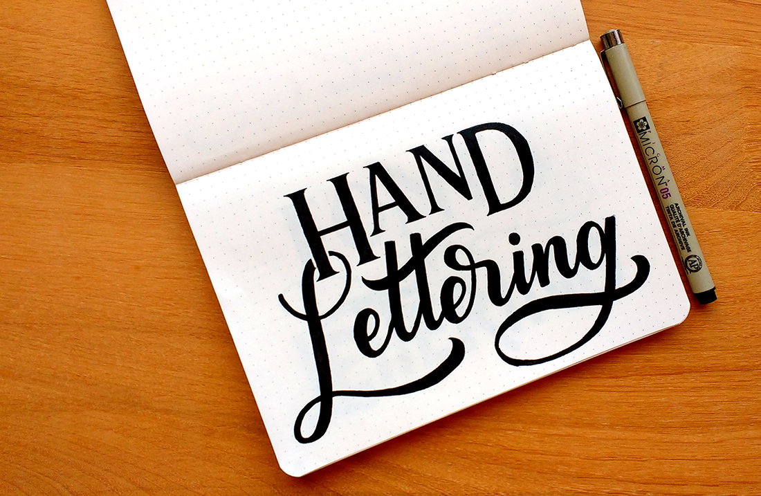 What Is Hand Lettering? - Rayane Alvim - Hand Lettering